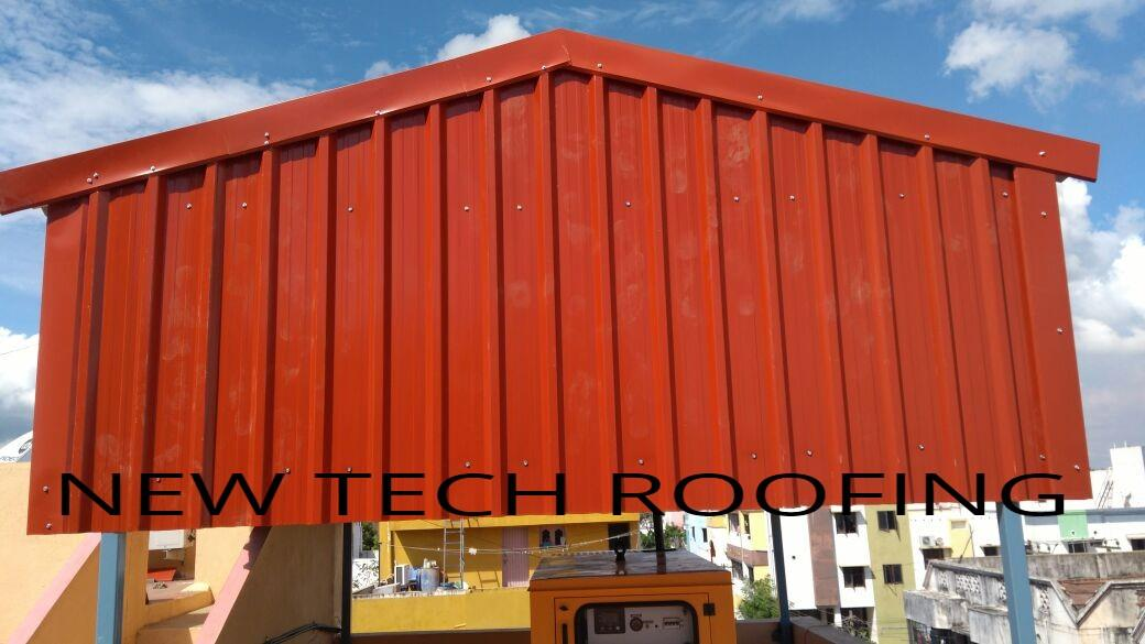 ctorsthere are many types of materials using for make roofing sheets, but at present most of customers want to installation metal roofing for them houses and industrial purposes.because metal sheets stands for long duration and gives aesthetic looks and cheaper cost for comparing other material like polycarbonate sheets.for more details about metal roofing sheds please contact us.
