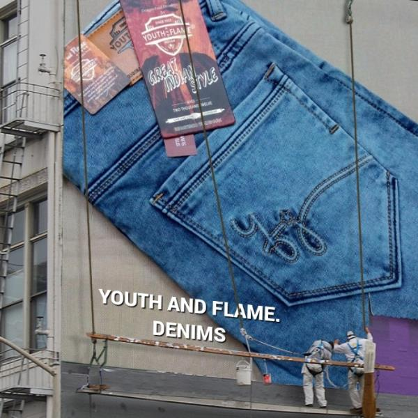YOUTH AND FLAME.Denim co