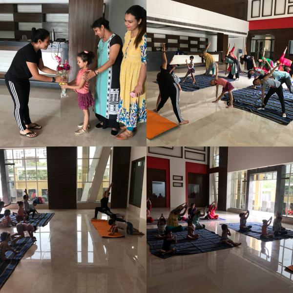 Euro International School Sector 109, organized a Yoga Session during summer which was conducted by Dr. Pratibha Sharma, Ayurvedic Doctor and Certified Yoga Instructor. Our mission was to empower students and teachers with yoga-inspired exercises to promote lifetime wellness.