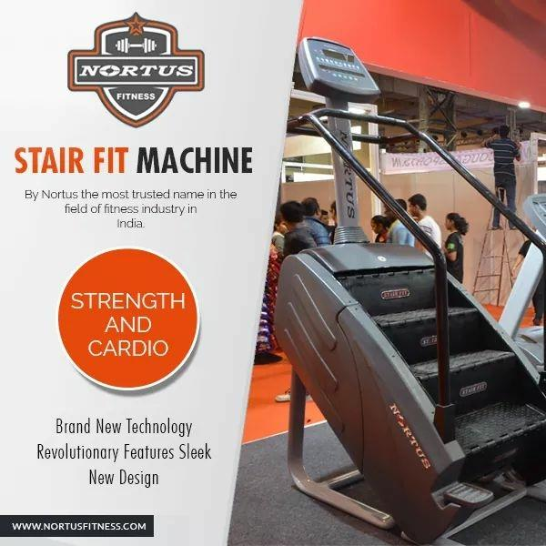 The stair fit machine by nortus fitness is the first stair machine manufactured in india by nortus fitness in fitness industry. Nortus fitness is the trusted name in fitness industry from past 30 years. #gym #fitness #fitnesslife #motivation #LogoDesign #gymlife #GymMotivation #nortusfitness #bodybuilding #muscle #cardio #FitnessMotivation #exercise #FitnessChallenge #fitindia #Biceps #HumFitTohIndiaFit #Protein #strength #fitnessaddict #fitnessfreak