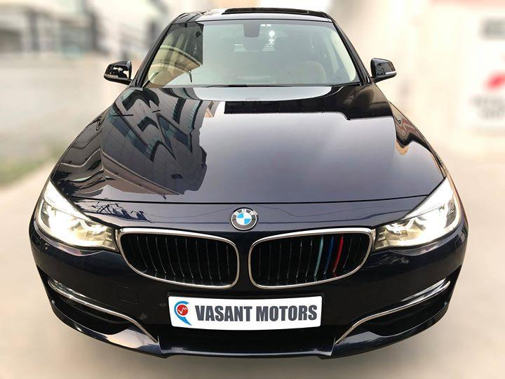 #BMW  #3SERIES #GT #LUXURY #LINE (IMPERIAL BLUE METALLIC COLOR, DIESEL), 2015 model done only 41, 000km in absolute mint condition... buy now and get one year #service pack from us. For further info call 7569696666. visit us @ www.vasantmotors.in