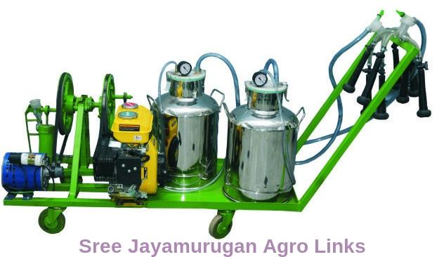 Trolley Model Milking Machine