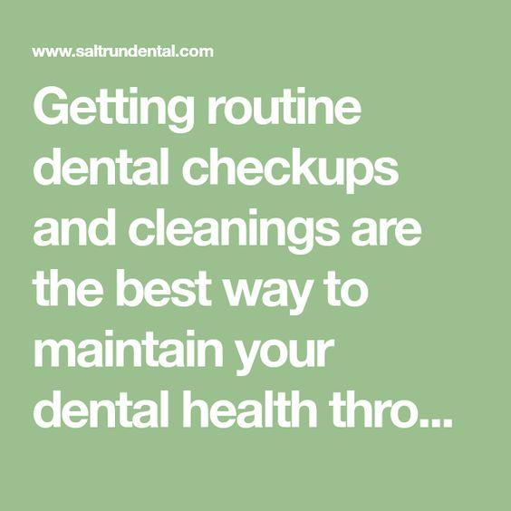 Getting routine Dent