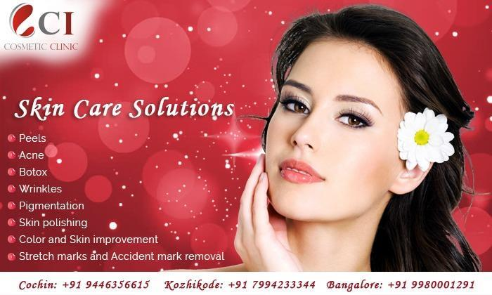 Restore & maintain your skin glow & complexion with the skincare treatments of Cutis International -C I Cosmetic Clinic..! We offer all Kind of skin treatments