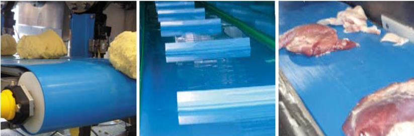 volta pu conveyor belts food grade belts