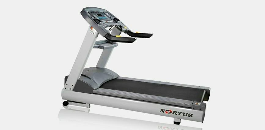 Treadmill from nortus fitness is motorized treadmill for commercial fitness centre, hotels, hospitals, schools, colleges, etc