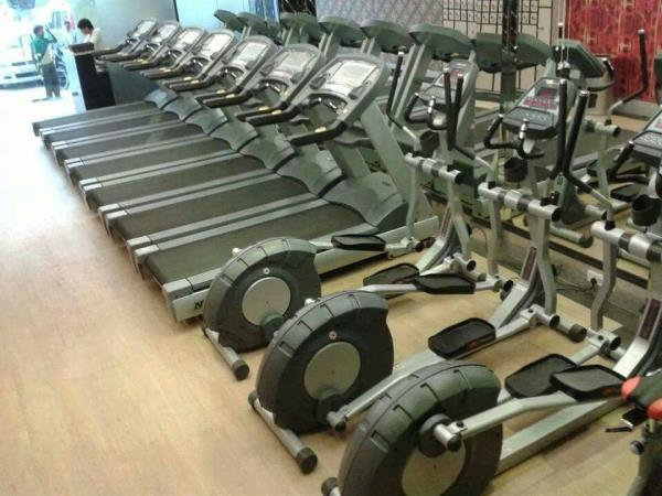 The treadmills and cross trainers from nortus fitness. The treadmills are the motorized treadmills