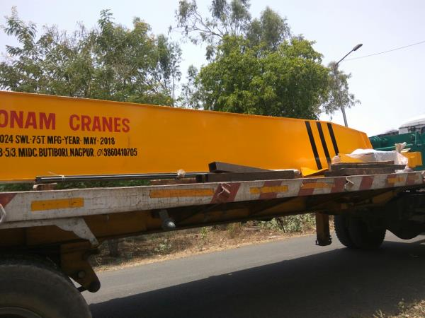Single girder EOT CRANES Dispatch