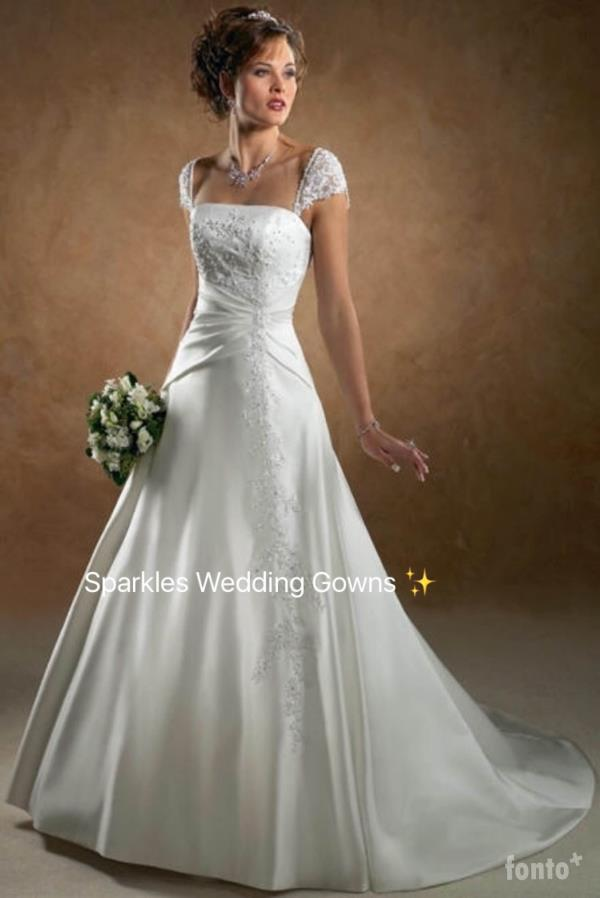 gown patterns : Sparkles Wedding Gowns in Bangalore,India