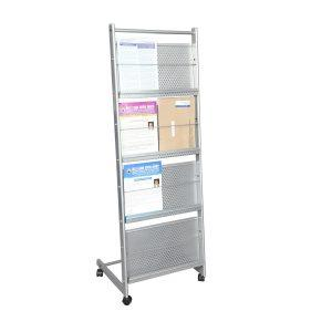 Magazine stands Manufacturer in Delhi   Magazine display stand foldable and easy to assemble,