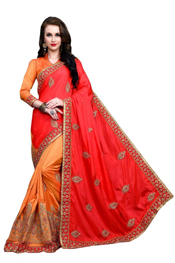 Sargam Fashion Embroidered Fashion Art Silk Saree  (Red, Orange) Buy Link : https://www.flipkart.com/sargam-fashion-embroidered-art-silk-saree/p/itmf63d5mjhsxkbw?pid=SARF6Y3WNYVDTNFU& lid=LSTSARF6Y3WNYVDTNFUADESHM& marketplace=FLIPKART& sattr=color& st=color& otracker=search Style: Sari Saree Fabric: Art Silk Blouse Fabric: Art Silk With Blouse Piece Type: Fashion Blouse Piece Length: 0.8 m