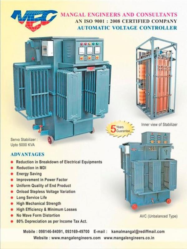 Best quality automatic Servo Voltage stabilizers in India For more info visit us at http://servo-stabilizer.com/Best-quality-automatic-Servo-Voltage-stabilizers-in-India/b7