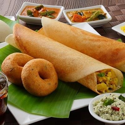 South Indian food in faridabad .