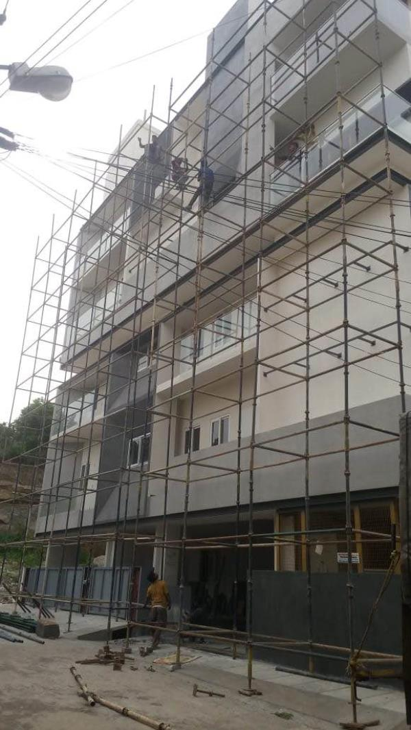 Scaffolding on rent