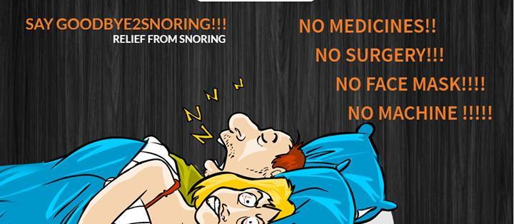 Snoring is a very major proble