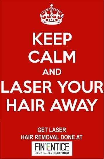 BEAT UNWANTED HAIR with L