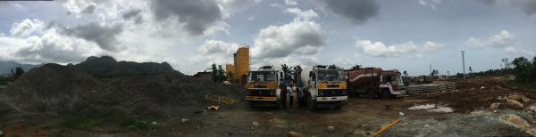 Earth mover in Hosur, Krishnagiri, Tamil Nadu and Bangalore   Hire of JCB motor grader 12ft, 10ft, vibrator roller, 14ton crane, 12ton crane, transit mixer 6m3.