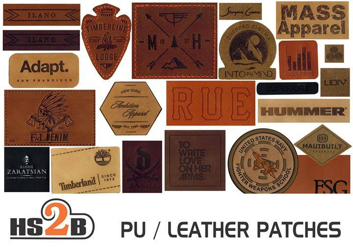 We make PU / Leather Patches u