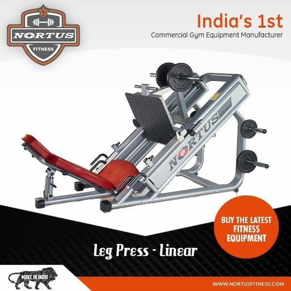 Leg press machine by nort