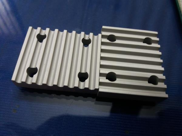 Clamping plates, clamping plates for open timing belts, PU open timing belts