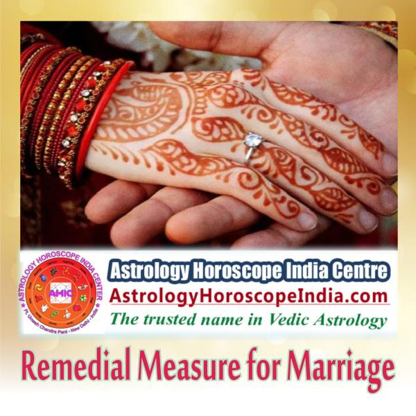 South Delhi:If you think that not everything in your marriage is good enough to keep your relationship for long term survival, our remedial solution for marriage is a best option you should trust for your concern. We offer apt and expertise-based solution leading to solutions which can help you sort out your marital woes for good. Get it now: http://astrologyhoroscopeindia.com/remedial-measures-for-marriage-detailed-guidance/p87#MarriageHoroscope