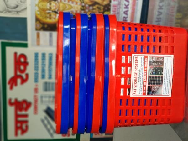 Plastic Buckets Supplier in Lucknow.  We are Manufacturer and Supplier of Display Racks, Supermarket Store Racks, Grocery Store Racks from Lucknow.  We also have a accessories used in Supermarket Stores like Buckets, Cash Tray, Trolley etc.  For more details call us or Whatsapp us on 8948066665, 9235555387.  Visit :- www.saidisplayracks.com  Facebook :- www.facebook.com/sairacks.