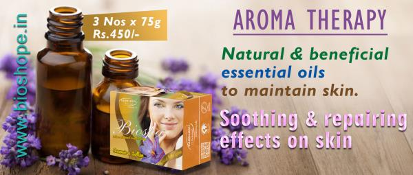 Aroma Therapy Soaps and chemicals are very harsh on skin and are sometimes carcinogenic. Aroma therapy on the other hand uses natural and beneficial essential oils to maintain skin as well as cure lesions, cuts, dermatitis etc.  Oils like l - by Natural Wellness Inc., Chennai