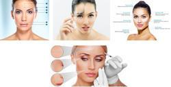 Botox Fine Lines And Wrinkles Treatment  Botox is the brand name of an injection given in extremely small doses into specific facial muscles to correct problems like wrinkles and frown lines.  Botox is sold in bottles or vials containing 100 units. It is kept in a freezer in the doctor's office and is reconstituted with saline solution before being injected.  Botox has been used by neurologists for decades in much higher doses than we use for skin treatments. Neurologists may use 400 units in a session, and we use only 30 to 100 units on average. Yet there has not been one single case of botulism created by any of these injections.  FDA-approved  1.    Frown lines between the eyebrows Horizontal forehead lines Crow's feet or smile lines around the eyes Excessive Sweating – Hyperhidrosis Neck lines and Facial slimming
