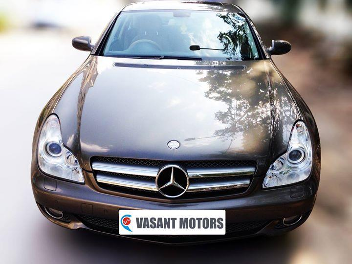 #MERCEDES #BENZ #CLS 350 CDI (INDIUM GREY COLOR, DIESEL) 2010 model done only 29, 000km in absolute mint condition... buy now and get one year #service pack from us. For further info call 7569696666. visit us @ www.vasantmotors.in