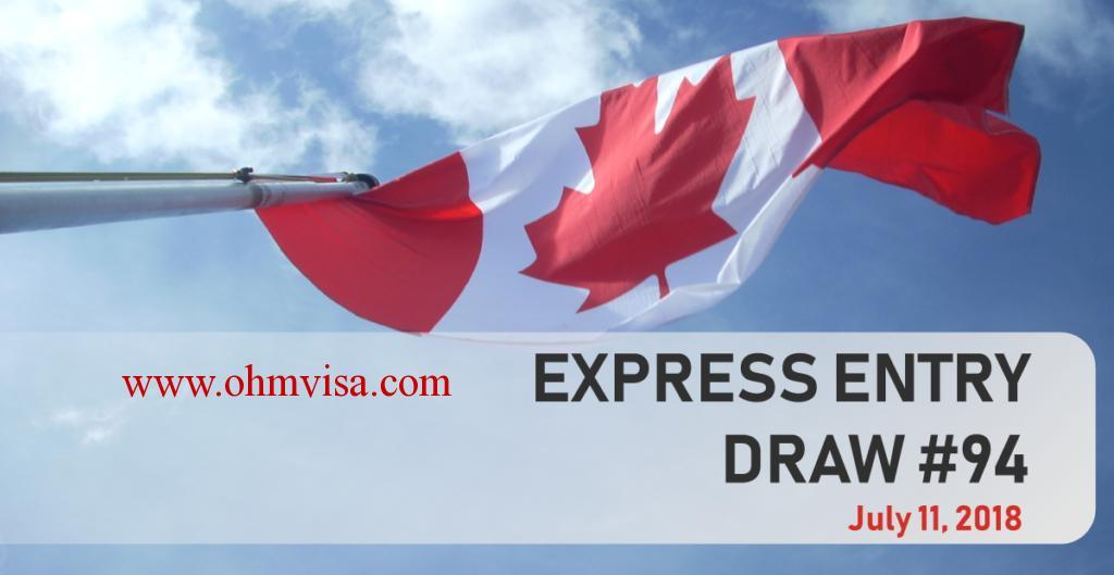 with your Family. Processing time 6 months to 1 year.Canada government has invited 3, 750 express entry candidates to apply for PR in a draw held on 11 July 2018. The Government of Canada has invited 3, 750 Express Entry candidates to apply for Canadian permanent residence in a draw held on July 11. The minimum Comprehensive Ranking System score for this draw was 442.Ohm Consultant is the expert visa consultant for Canada Express Entry (PR) in Ahmedabad.