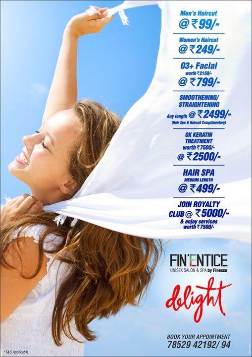Presenting Fin'Entice Del