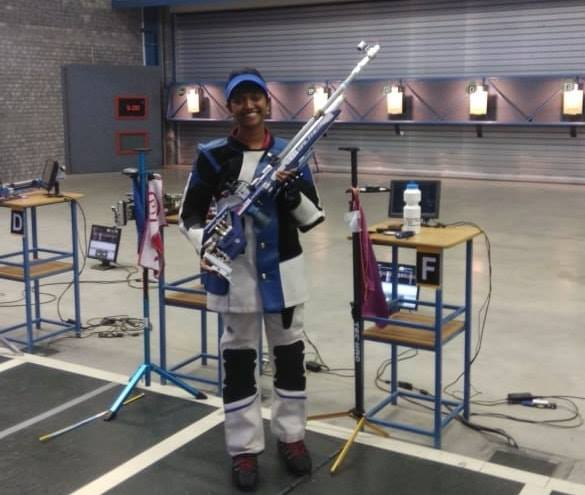 Project Leap supported shooter Elavenil Valarivan continued her stellar for and grabbed gold at the ongoing 28th Meeting of Shooting Hopes, Plzen  More power to her.