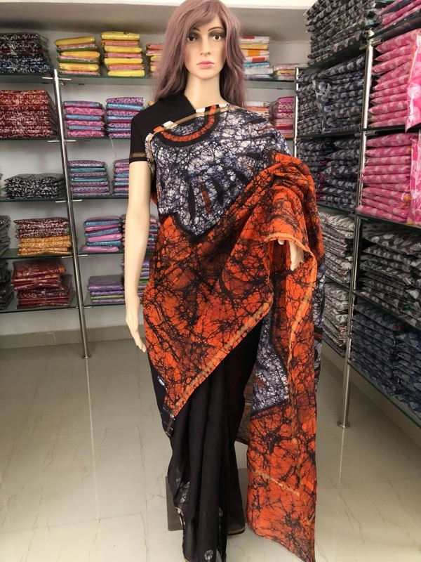 Chanderi Saree With Blouse in Traditional Hand Block Batic Print We Are One Of Rajasthan's Leading Manufacturer Of Women Ethnic Apparel and We Deals In All Kind Of Batik Print Suits Such As Batik Print Suit, Batik Print Sarees, Batik Print Dress Material, Batik Print Kurtis, Batik Print Kalamkari, Chanderi Suit Batik Print, Chanderi Saree Batik Print, Kalamkari Chanderi Suits Kalamkari Chanderi Sarees, Batik Print Dupatta, Cotton Suits Batik Print, Cotton Saree Batik Print, Kalamkari Cotton Sarees, Batik Print Suits With Chiffon Dupatta, Batik Print Saree With Blouse, Traditional Batik Print, Traditional Batik Print Sarees, Traditional Batik Print Kurtis, Hand-block Batik Print Suits, Hand-block Batik Print Sarees, Batik Print Chanderi Dupatta, Batik Print Cotton Dupattas, Kalamkari Batik Print Dupattas etc. At Sanganer Jaipur Rajasthan From:-  Nikhilam  Ramawtar Jajpura  9950633755 Site link :- http://nikhilamdressmaterial.com Facebook page:- Nikhilam TDS
