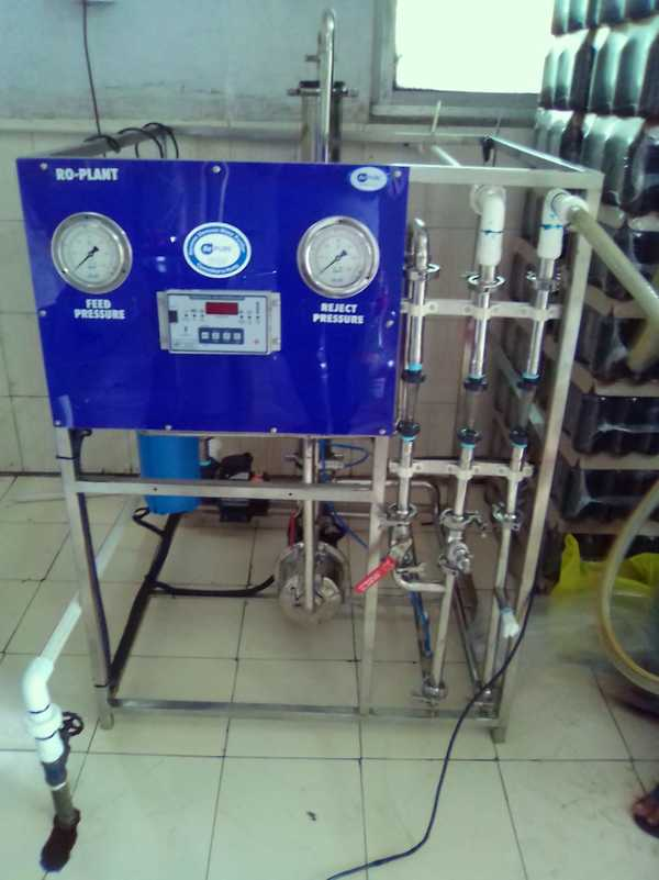 Installation of a 100lph