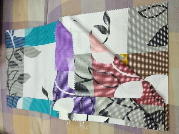 Printed cloth in met