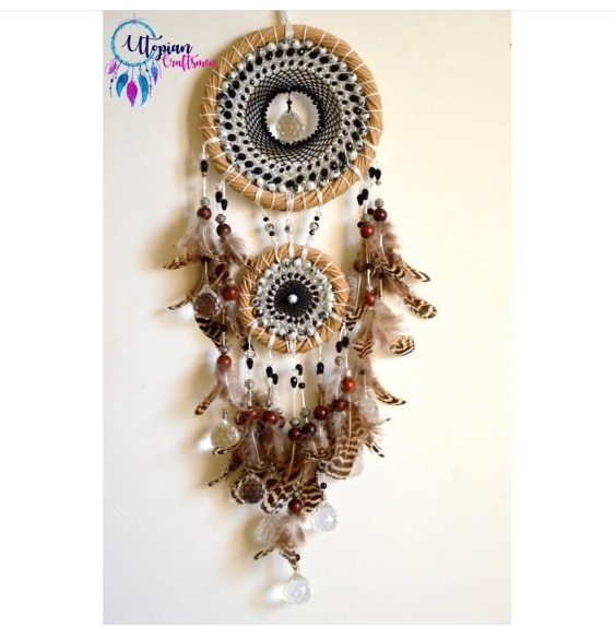 Bright and Colorful Dreamcatchers that will make your loved one smile. These beautiful handmade crafts are made with exclusive materials sourced from all over India. We aspire to become largest Dreamcatcher store in India. Visit our website to buy our creations online only on www.utopiancraftsmen.com. For more details call us on +91 909 659 5656.