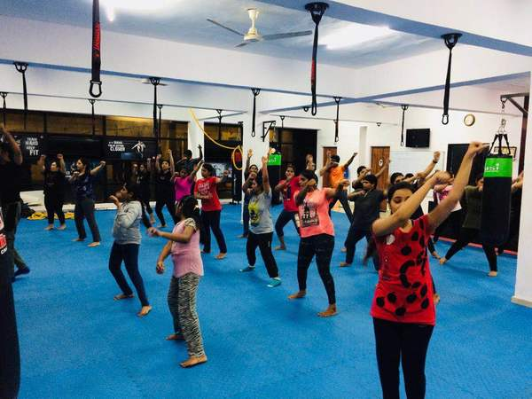 Snaps from Zumba ses