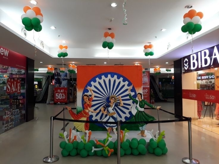 Independence day decor ..