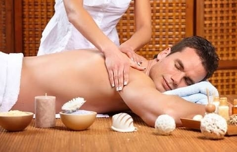 Full body massage with oil to get you co