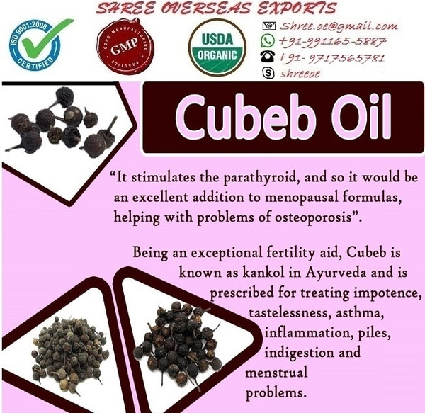 Cubeb oil's Exporter and