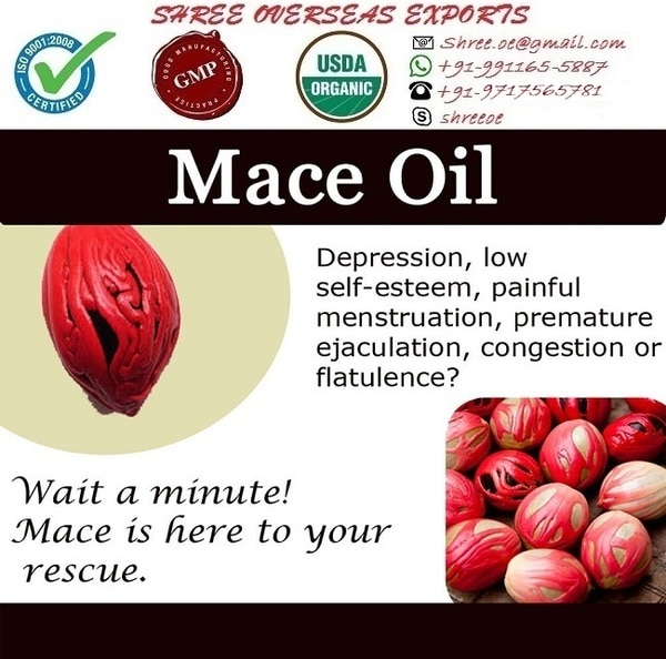 Mace oil's exporter and m