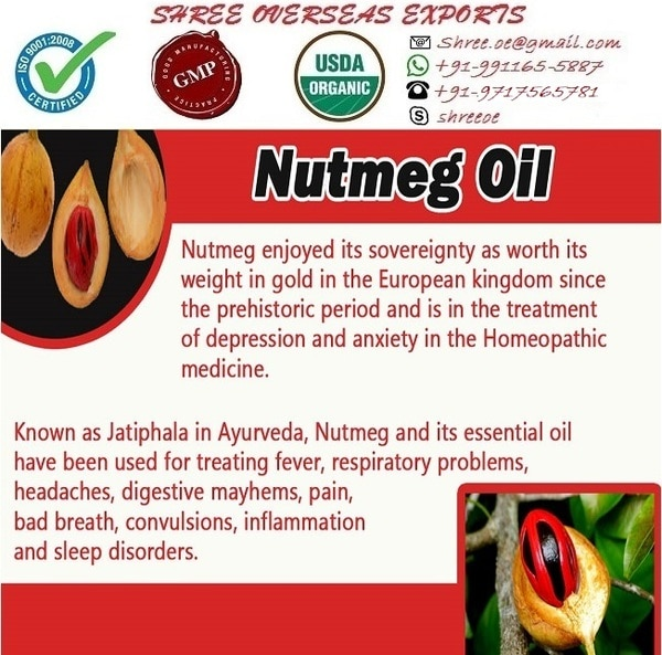 Nutmeg oil's exporter and