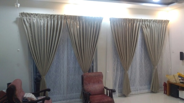 blackout curtains in