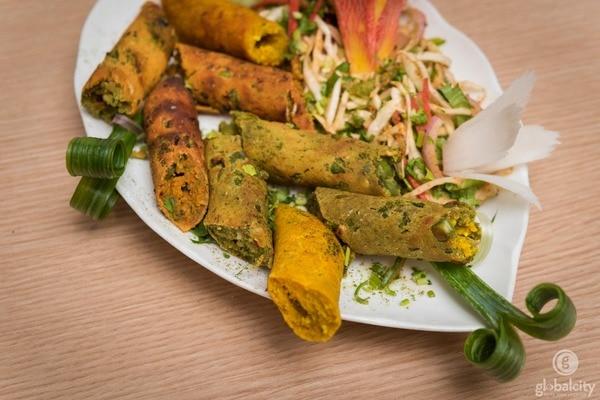 Delicious Veg Seekh Kabab @ Ziyafat Restaurant