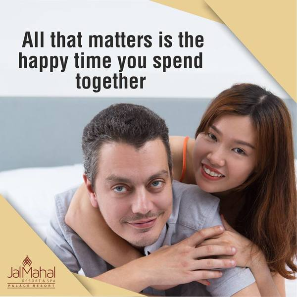 The best thing you can gift your partner is your time. Take some time out and visit JalMahal to spend some happy time.