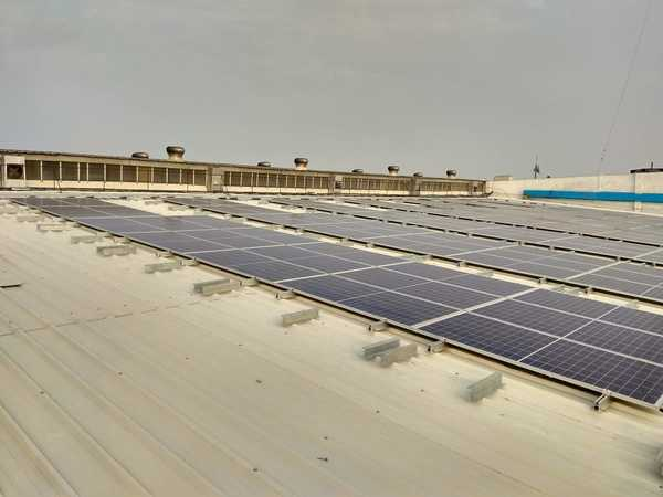 80 Kwp Solar Roof Top Project