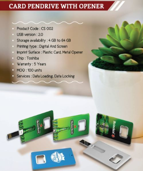 Card Pendrive With O