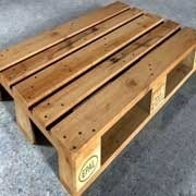 ISPM 15 Wooden Pallet   Backed