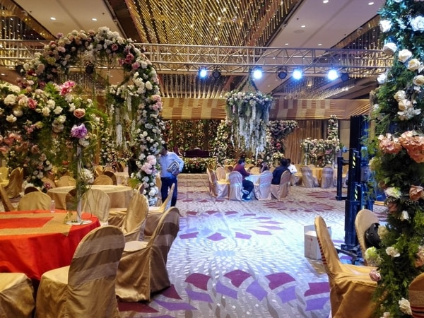 Event Flower Decoration.