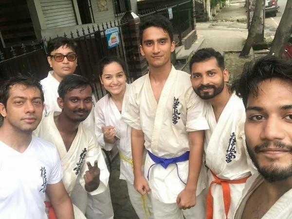 1st time in Mumbai.
